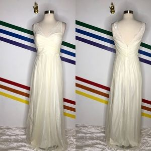 NEW Hitherto ivory gown